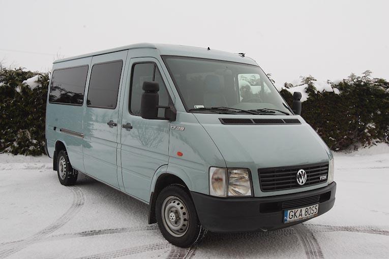 Volkswagen LT 28  Przewozy autobusowe IRBUS Kraj i Zagranica